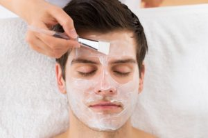 Facials for men